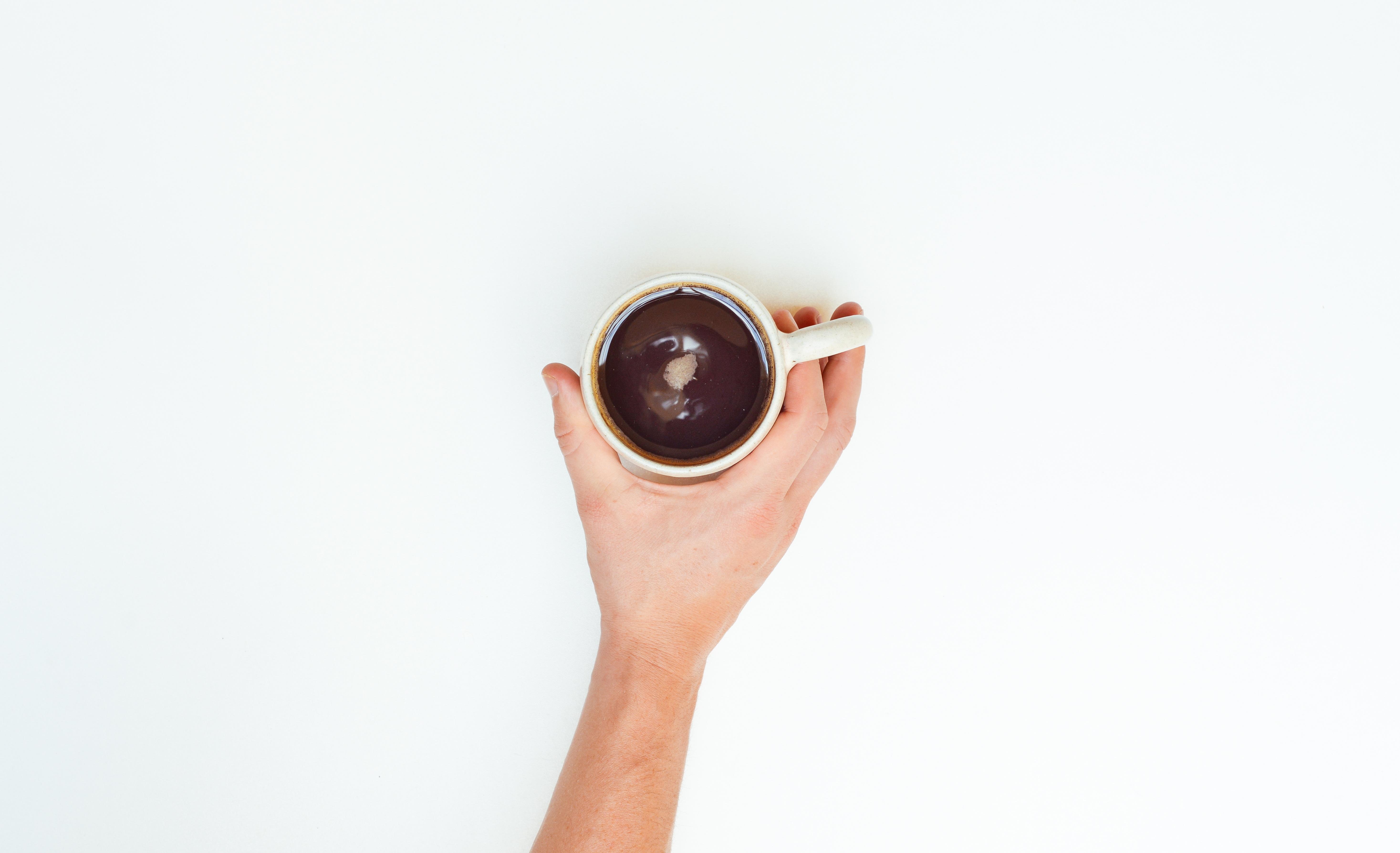 Mężczyźni nie piją kawy