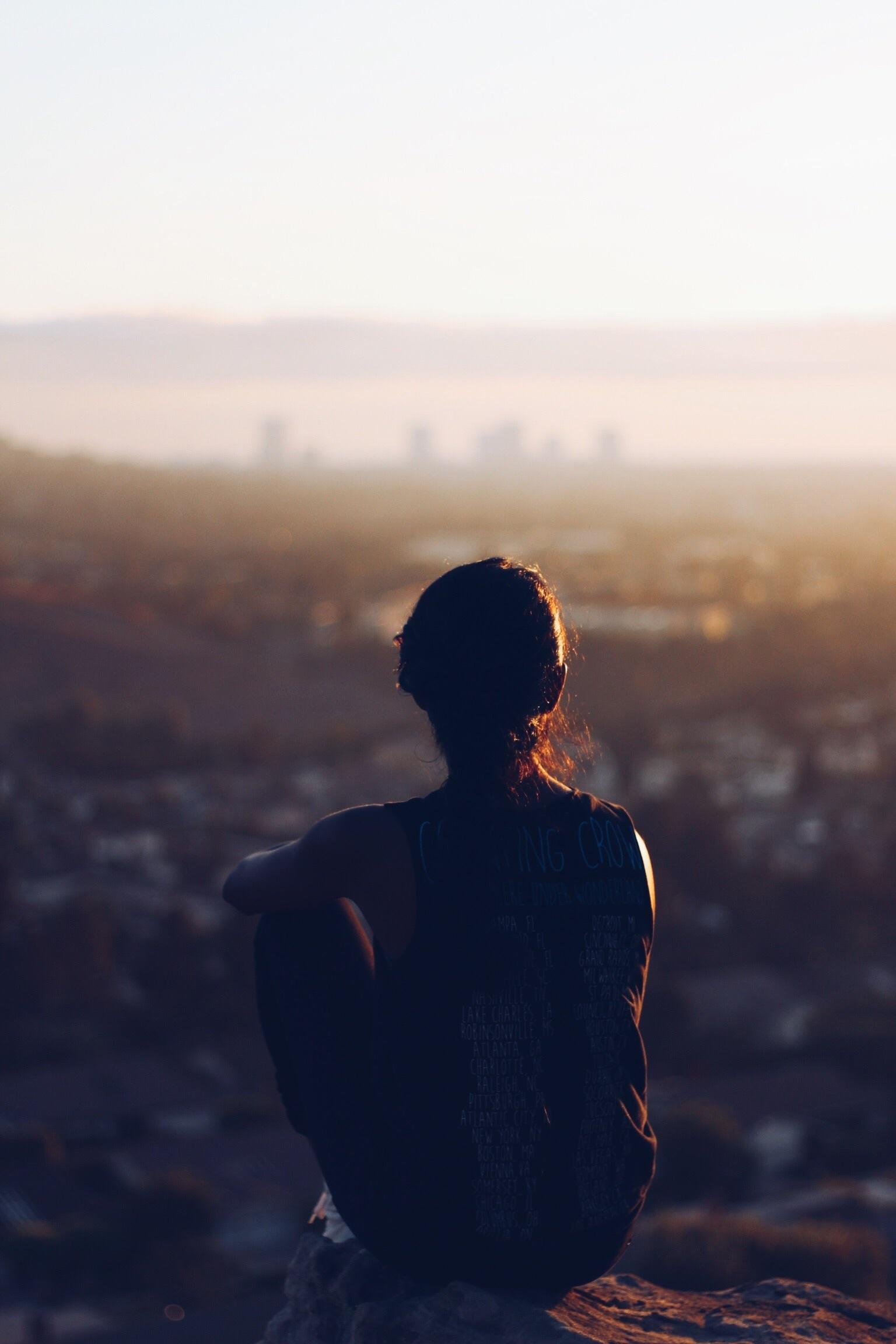 kobieta miasto