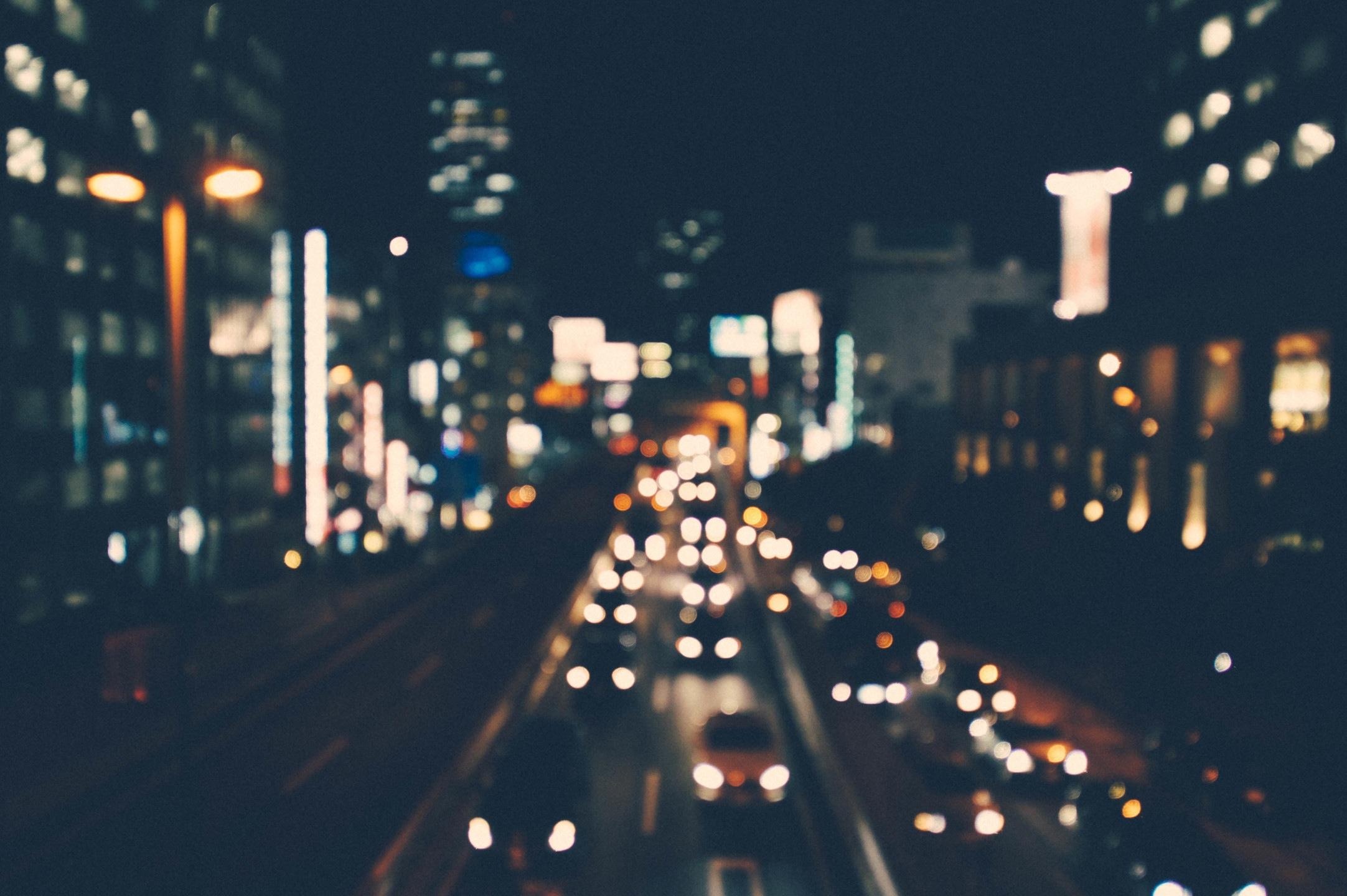 miasto auta