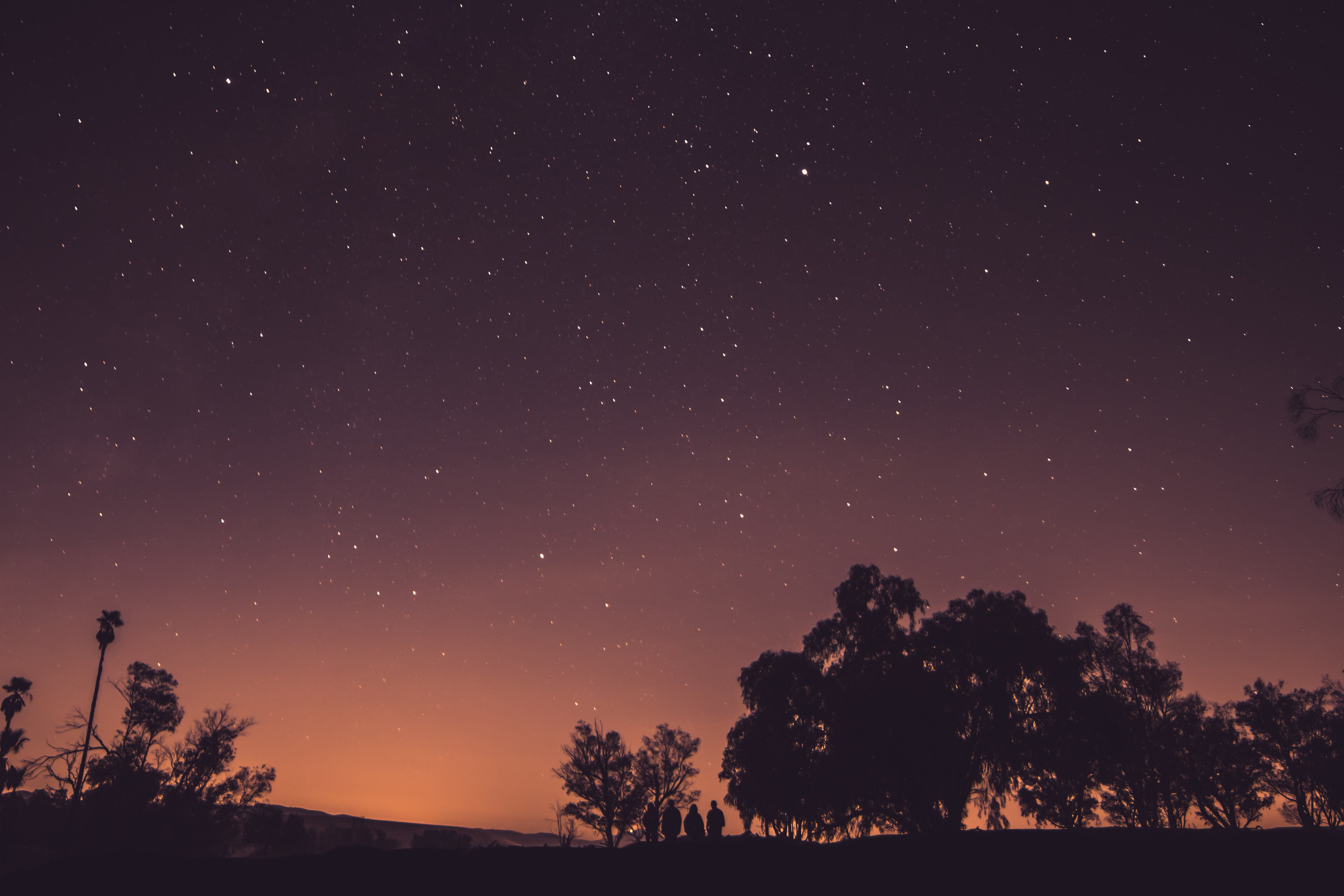 niebo gwiazdy