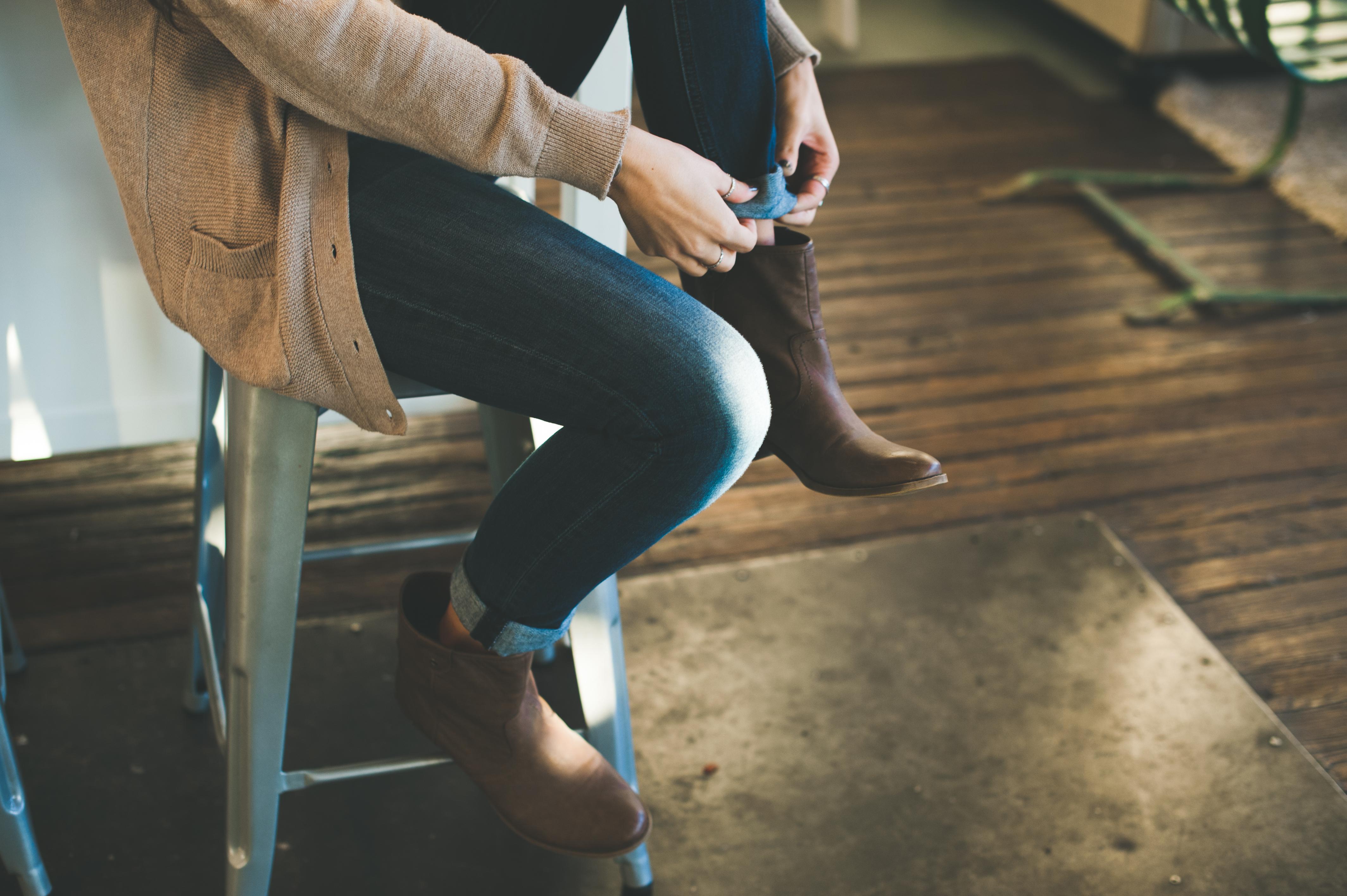 buty kobieta