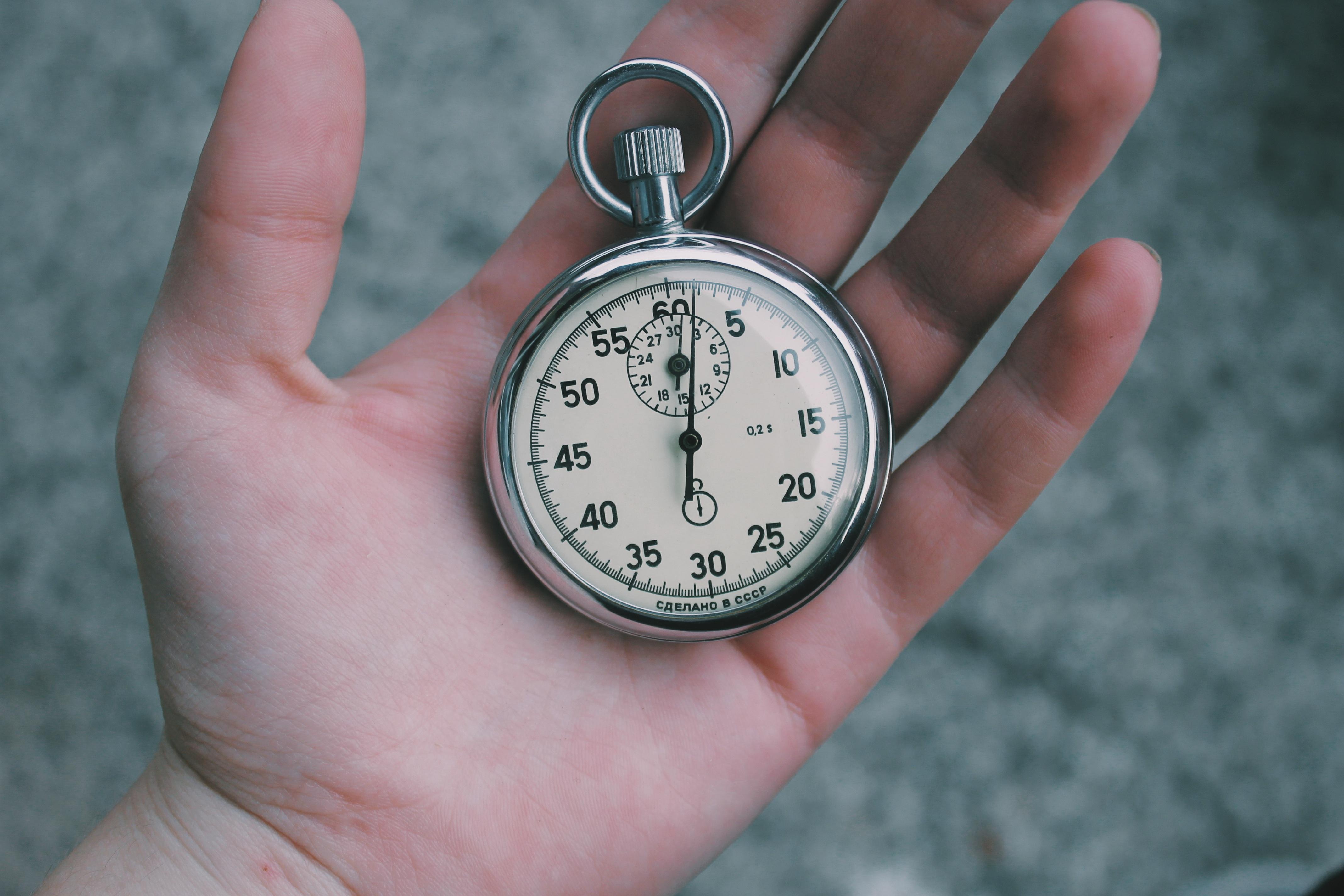 To nie tak, że nie masz czasu