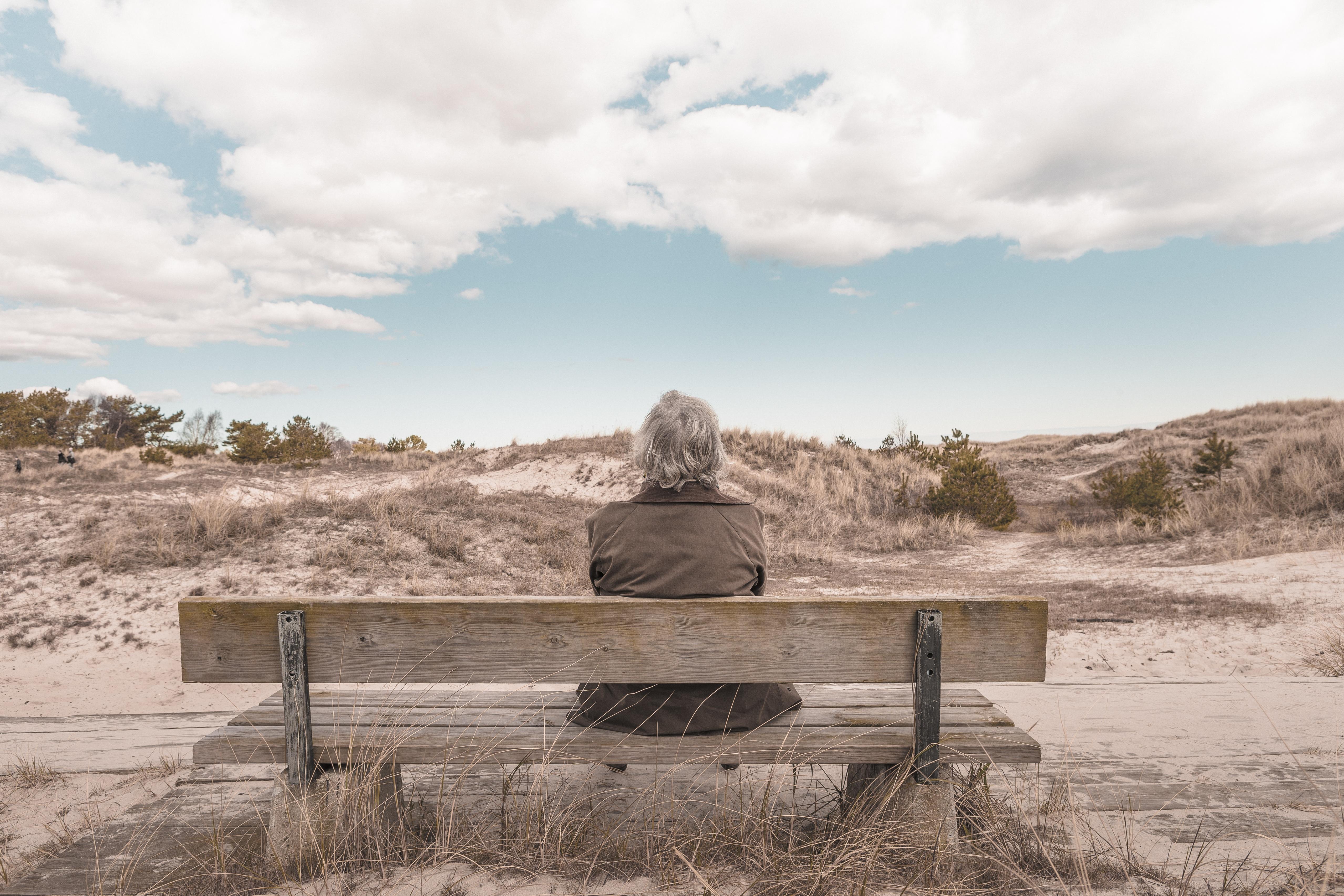 starość śmierć spokój