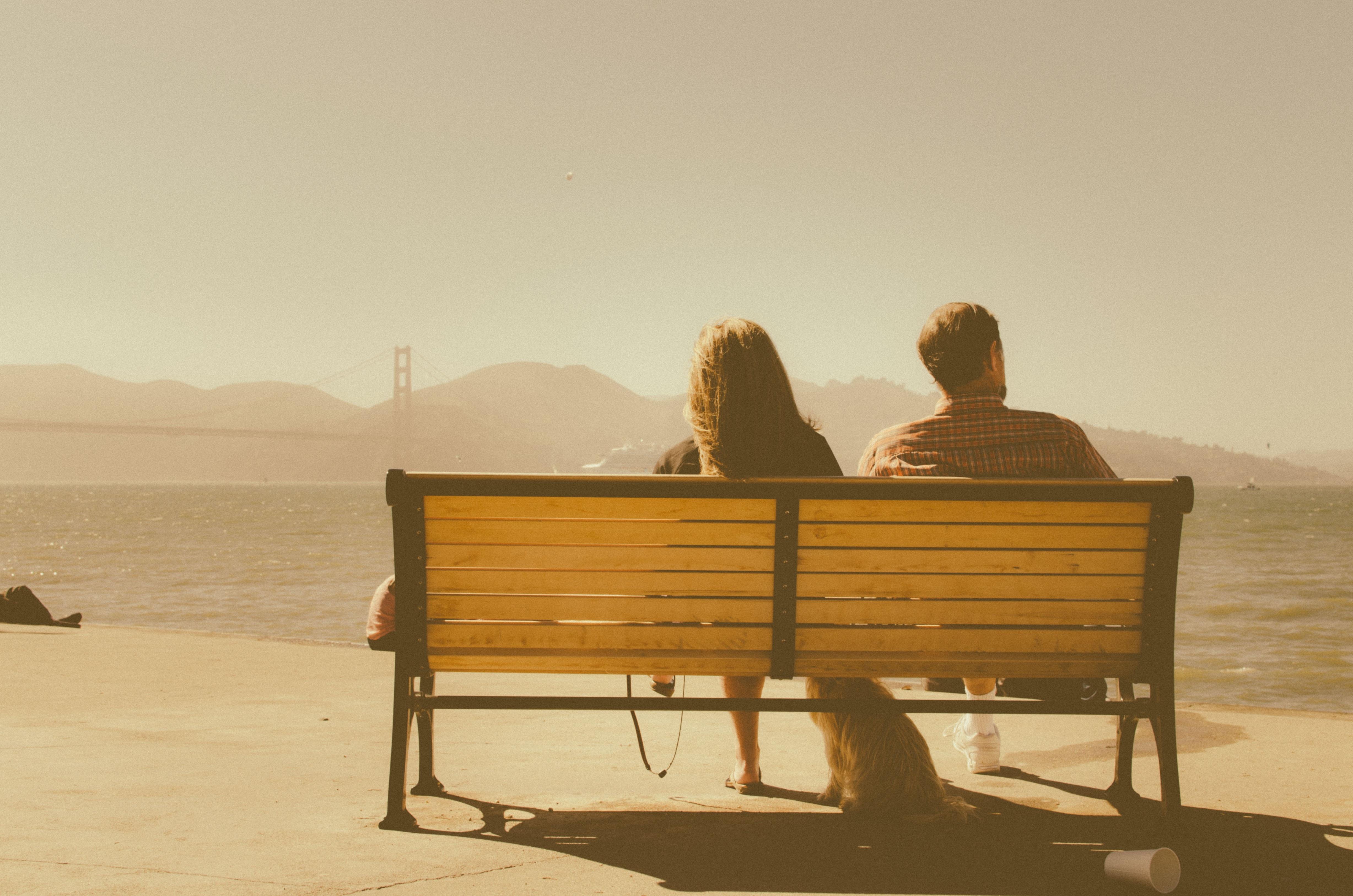 para miłość widok