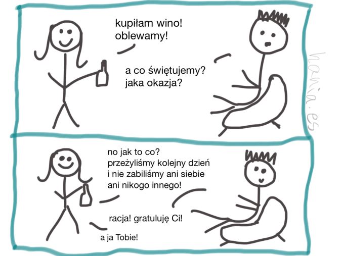 komikses wino