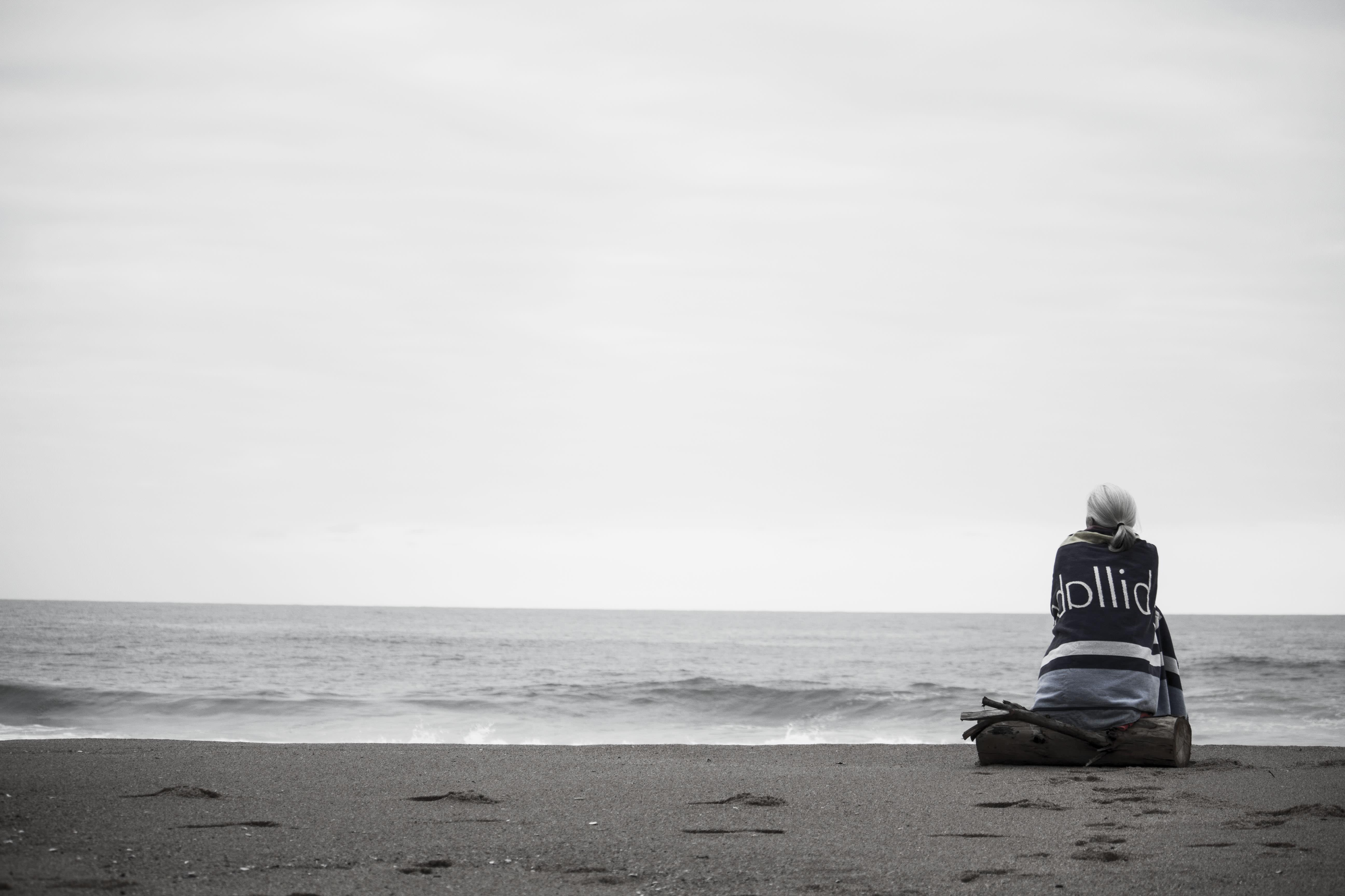 depresja kobieta morze