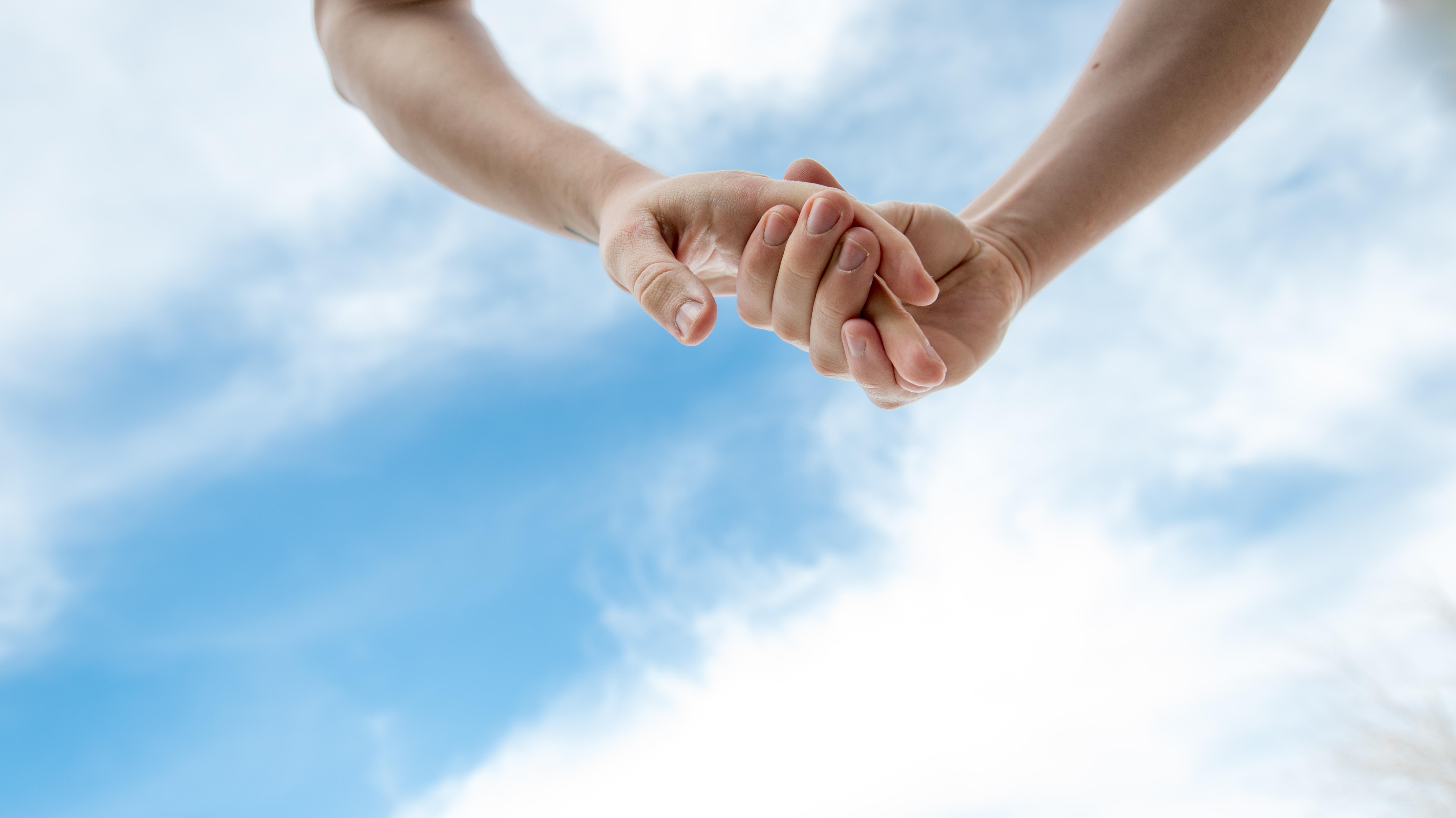 ręce para miłość