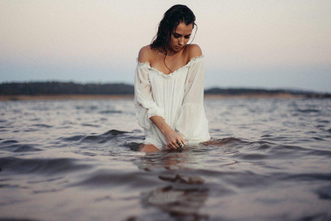 dziewczyna woda sexy